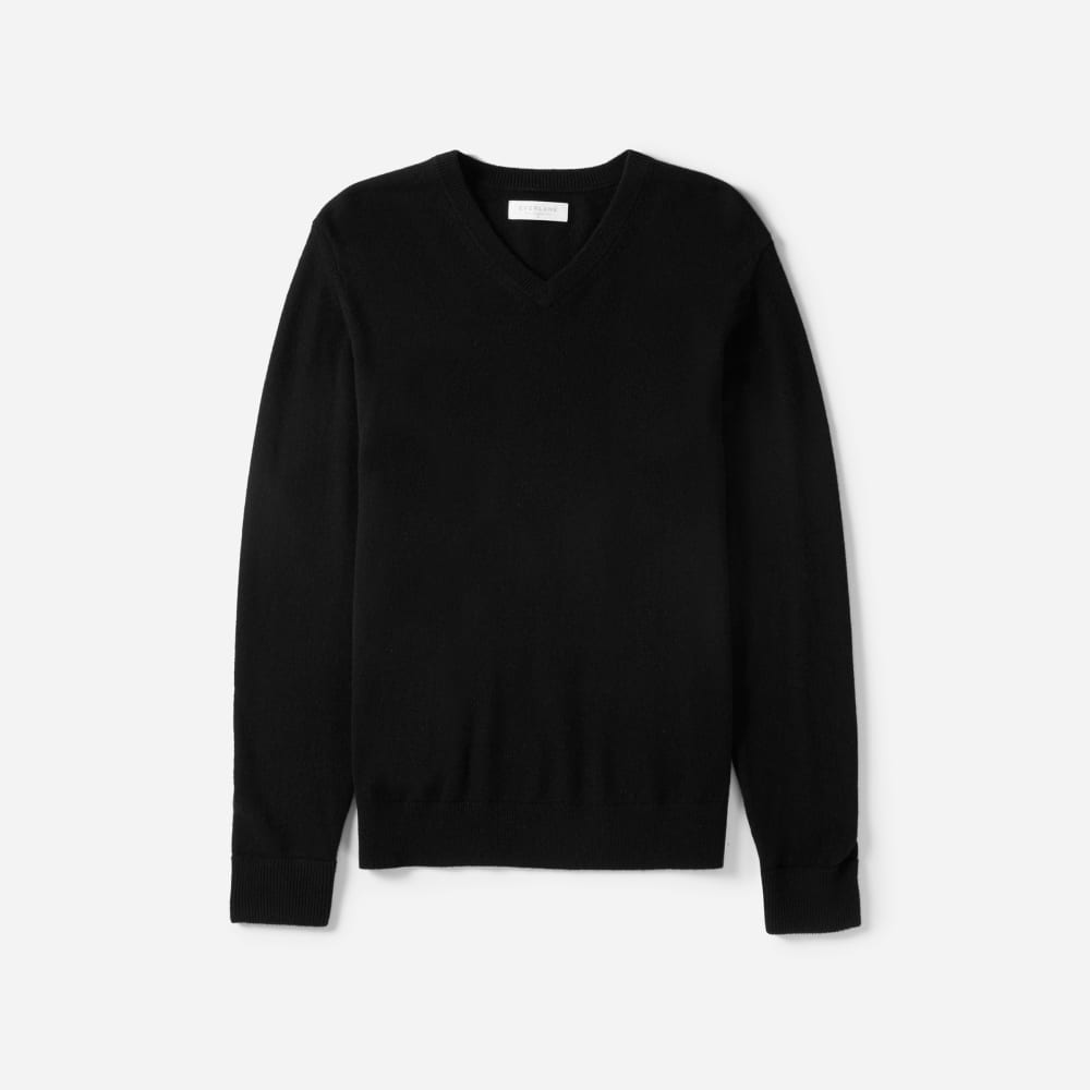 The Cashmere V Neck – Everlane