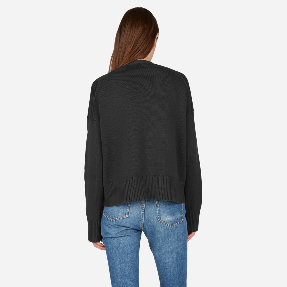 The Soft Cotton Square Cardigan – Everlane