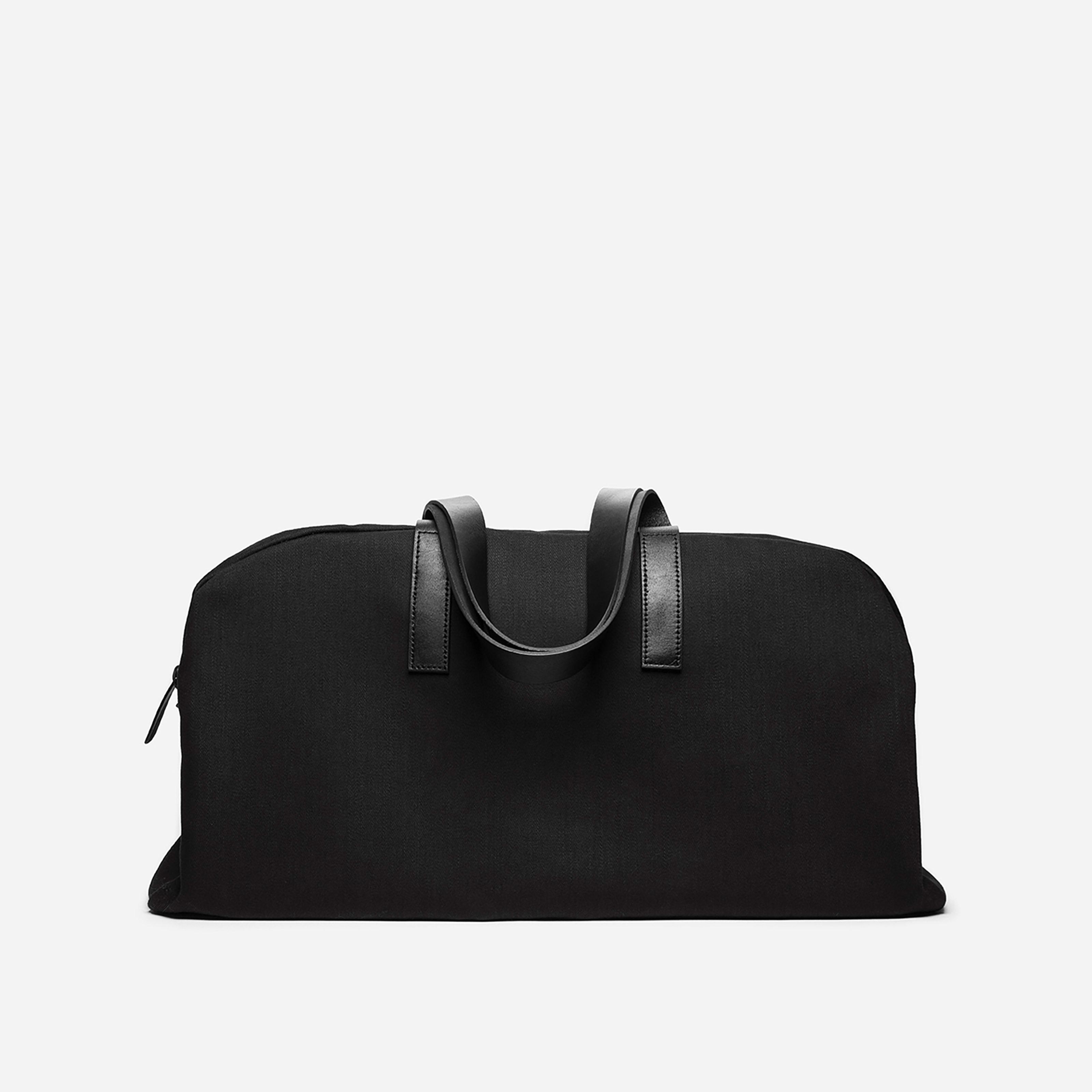 Twill Weekender Bag By Everlane In Black