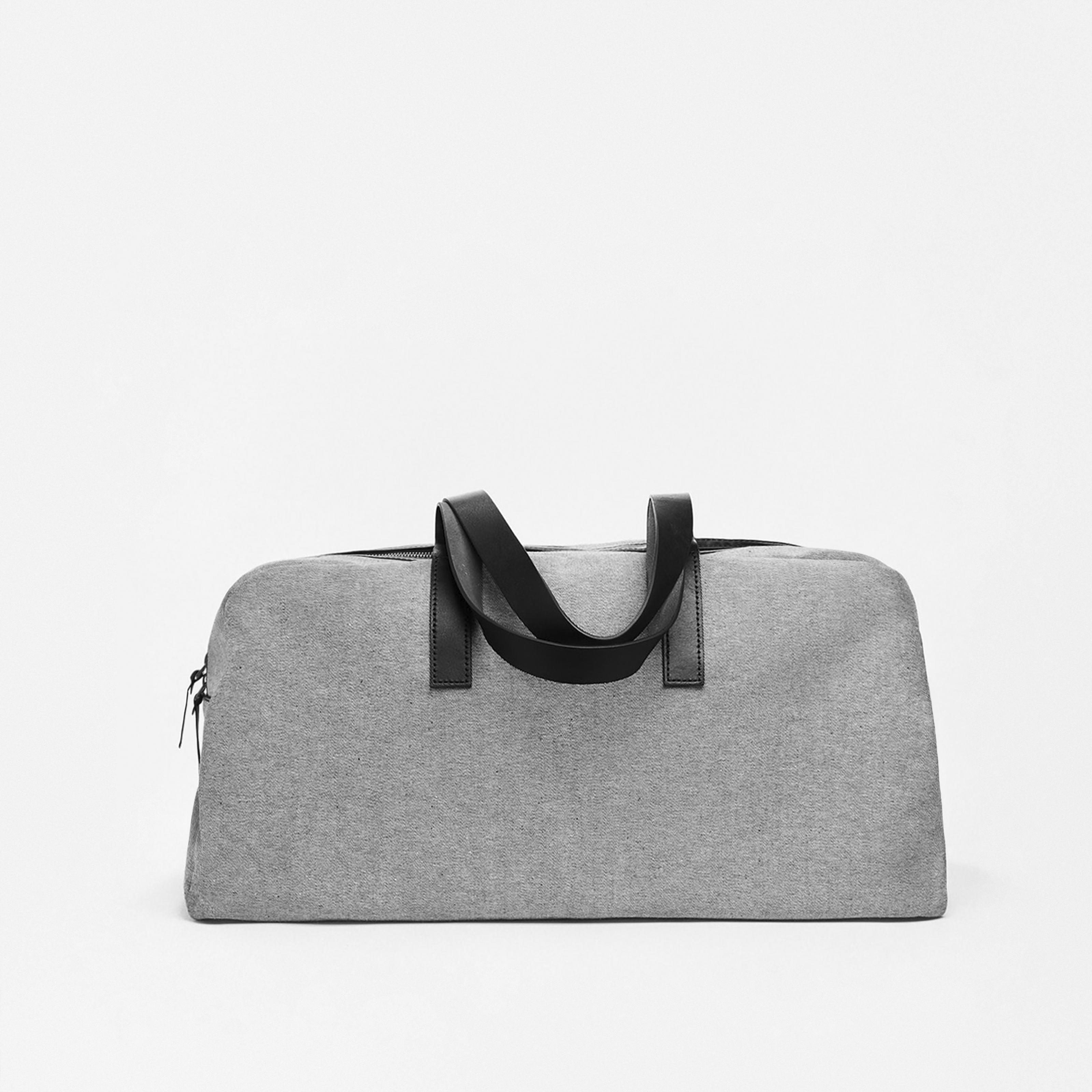 Twill Weekender Bag By Everlane In Denim/Black