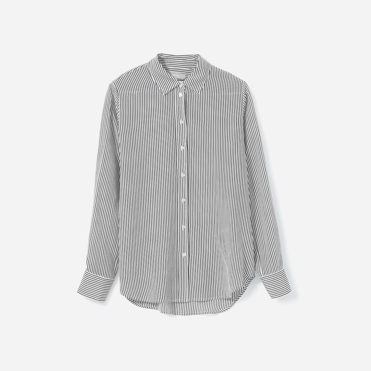 The Clean Silk Relaxed Shirt   Everlane