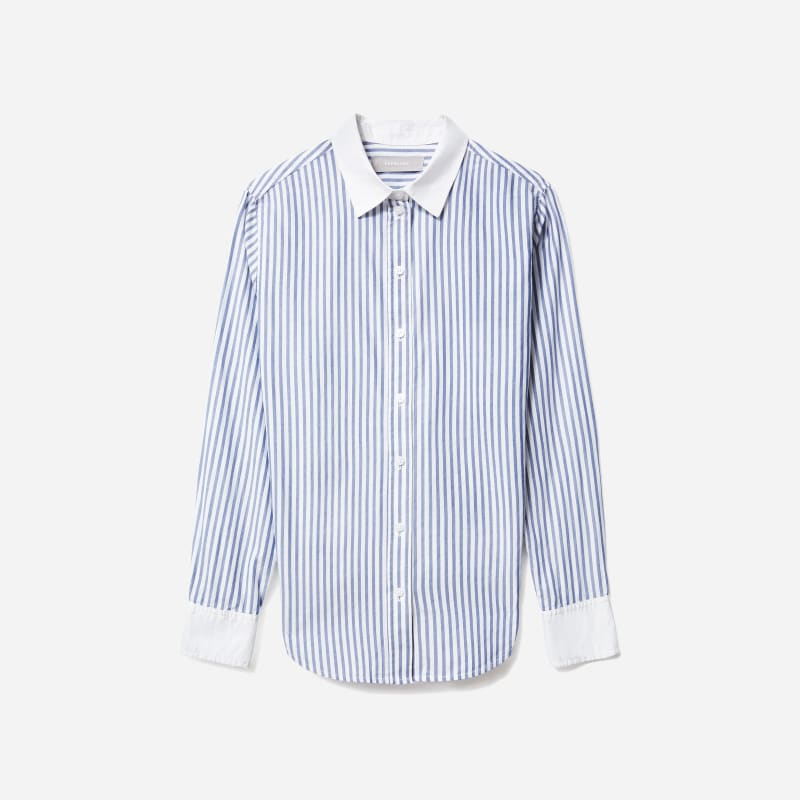 The Silky Cotton Relaxed Shirt | Everlane