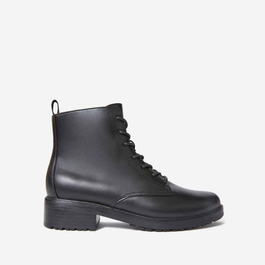 Everlane Modern Utility Lace Up Boot