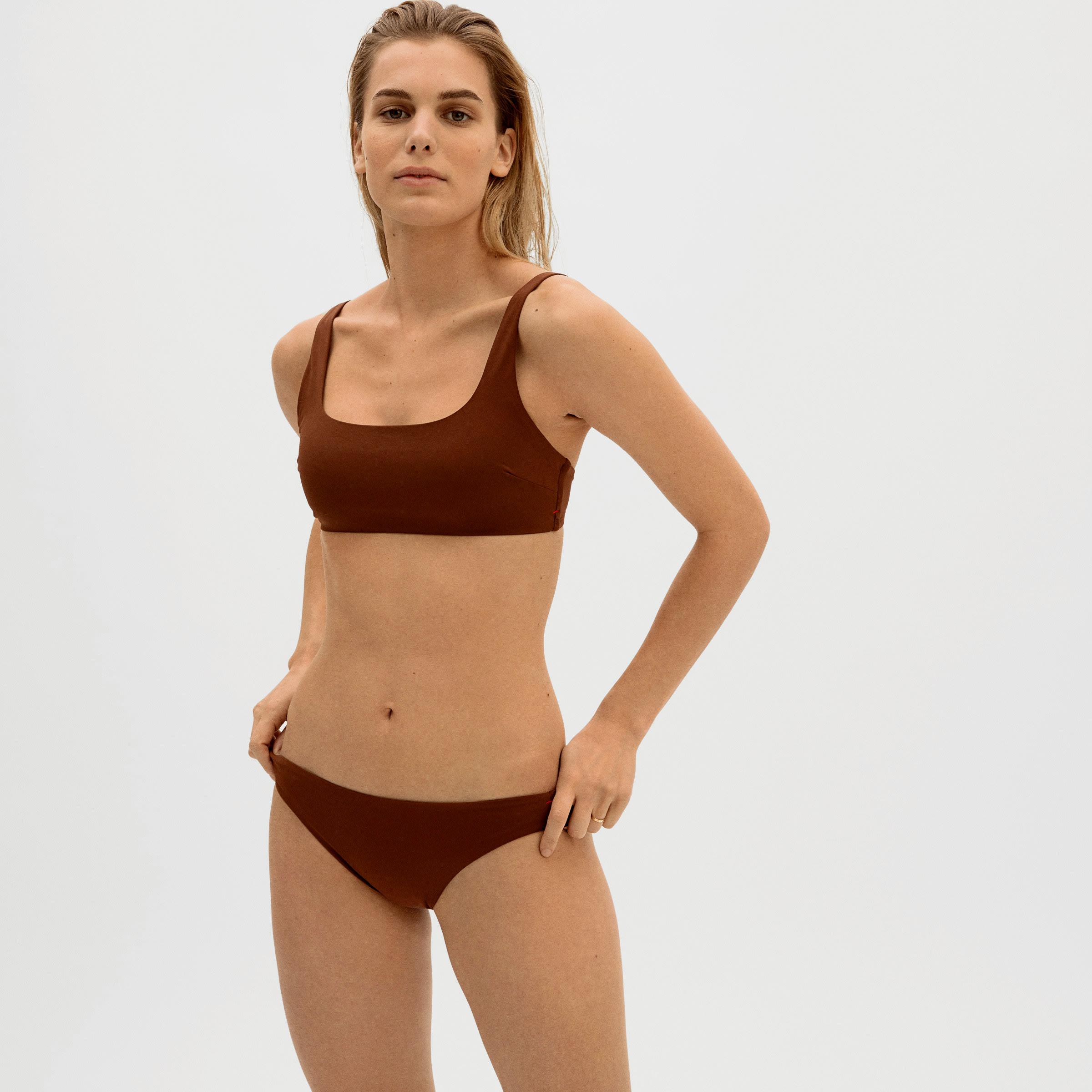 The Square-Neck Bikini Top | Everlane