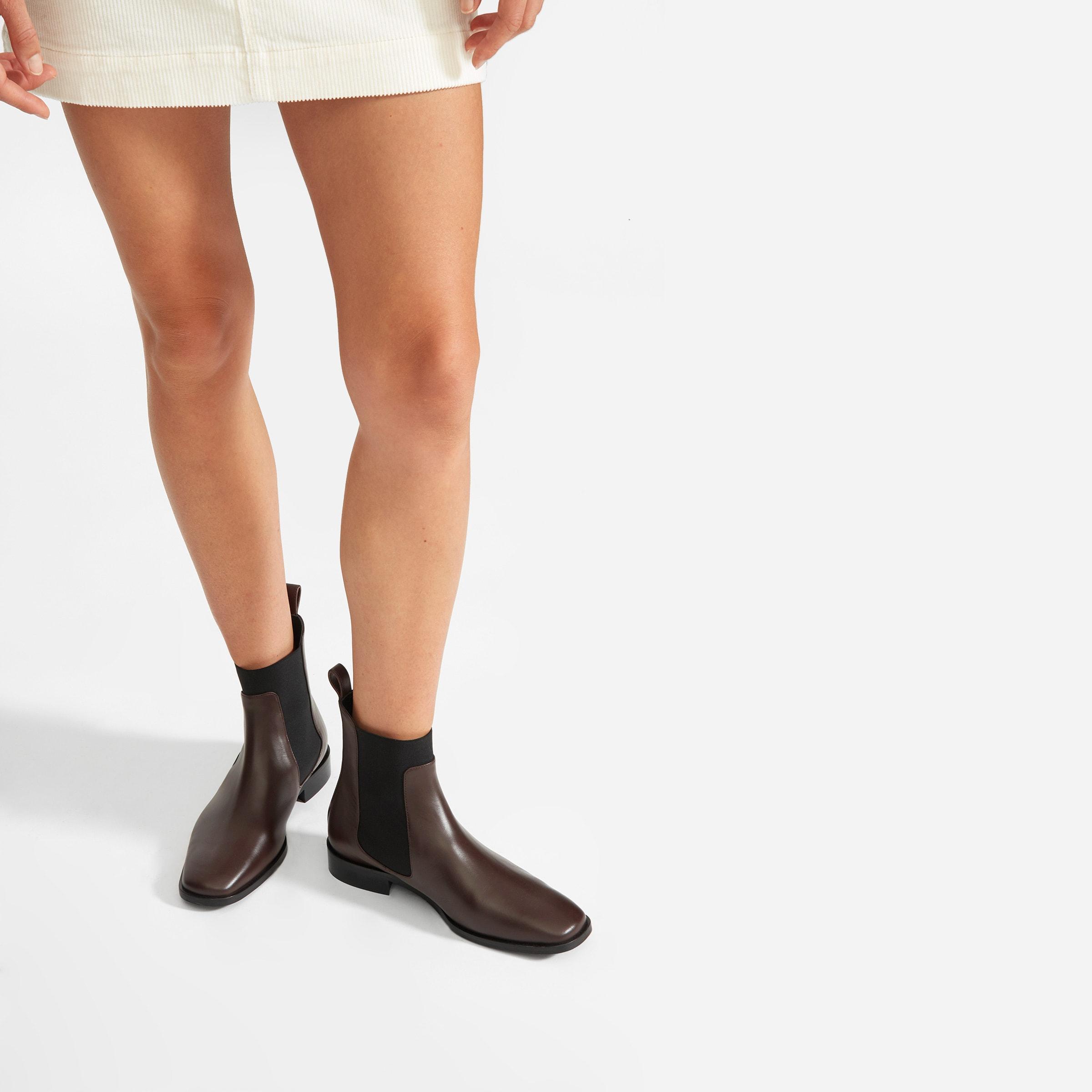 The Square Toe Chelsea Boot – Everlane