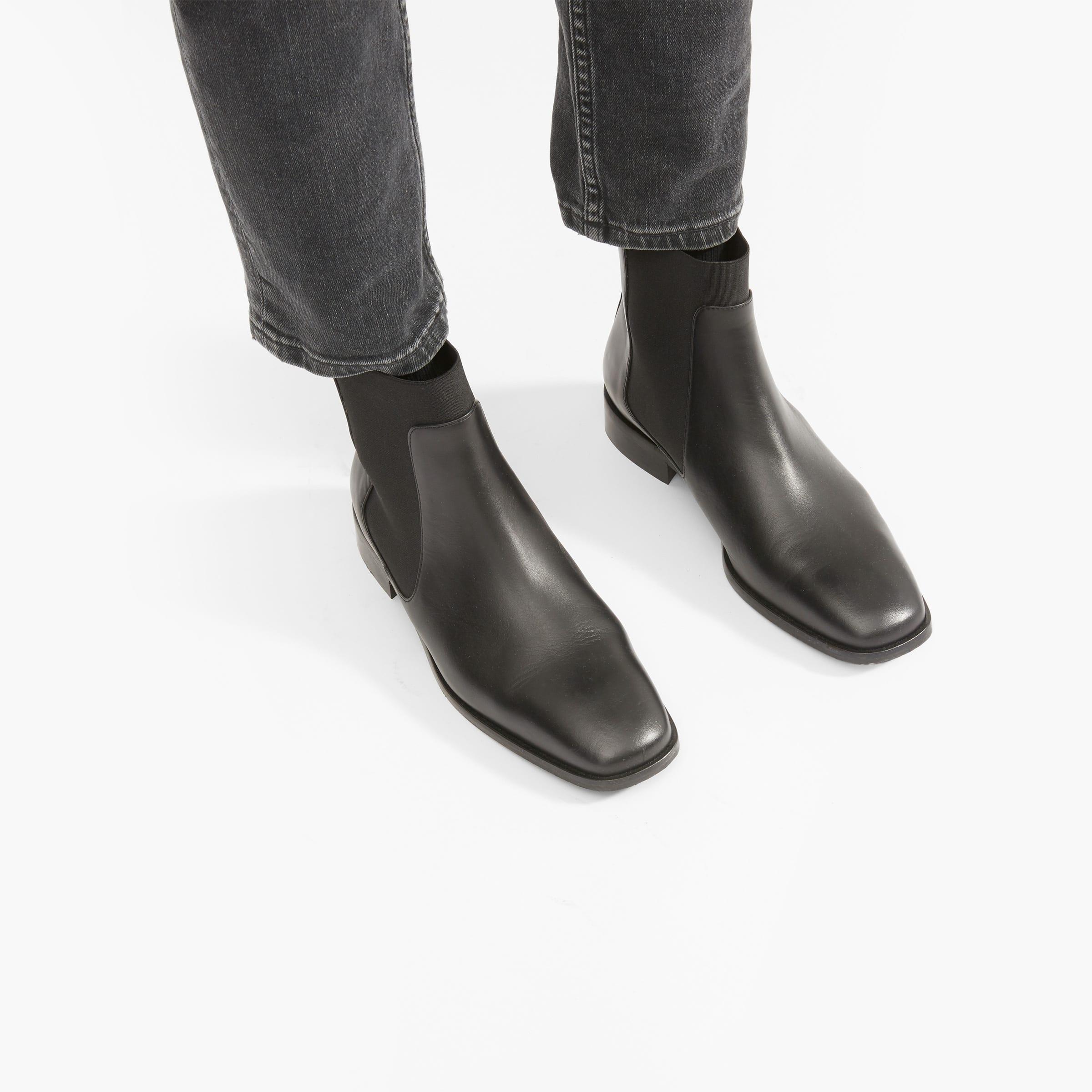 The Square Toe Chelsea Boot Everlane