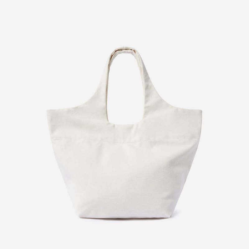 The Canvas Basket Tote   Everlane