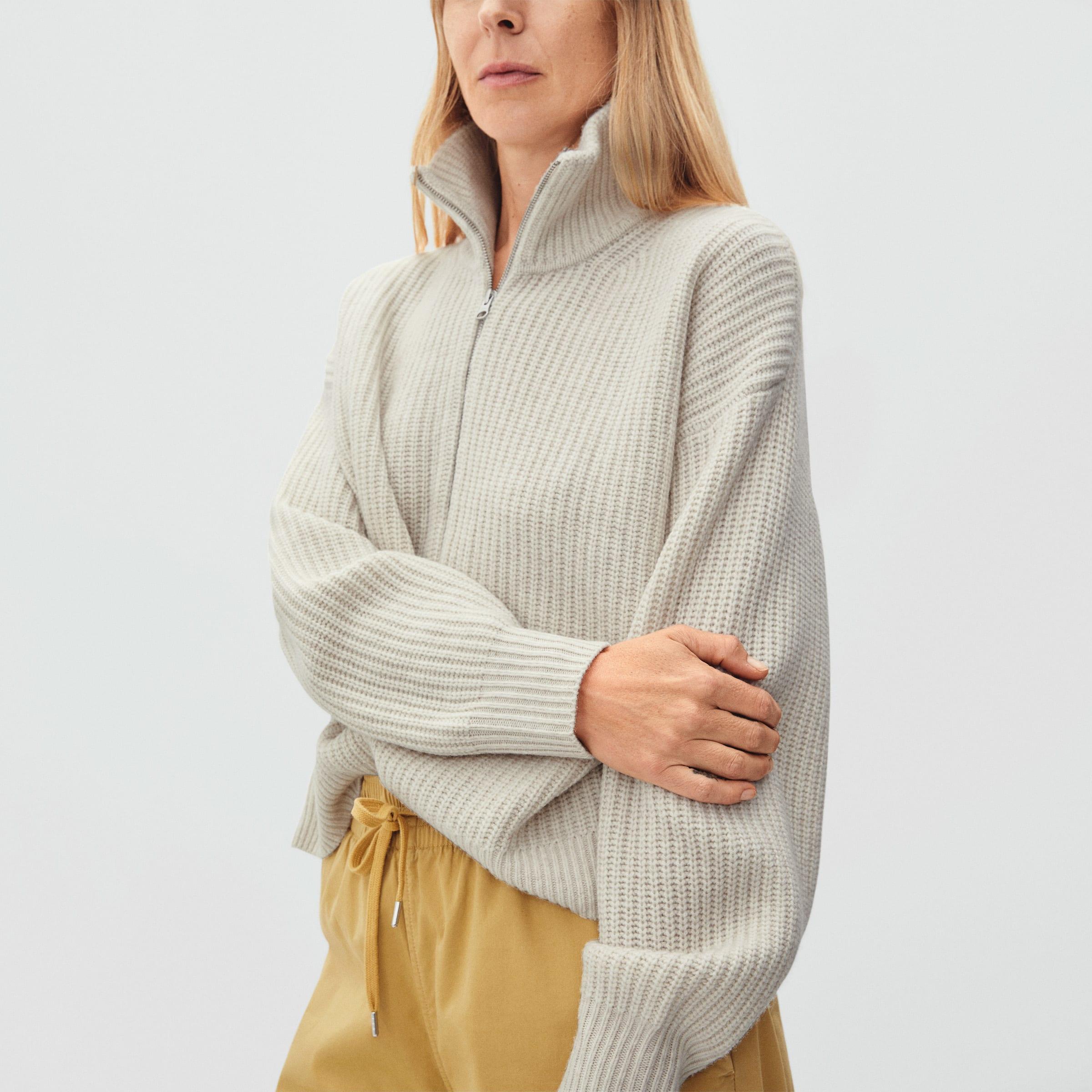 The Felted Merino Half-Zip Sweater | Everlane
