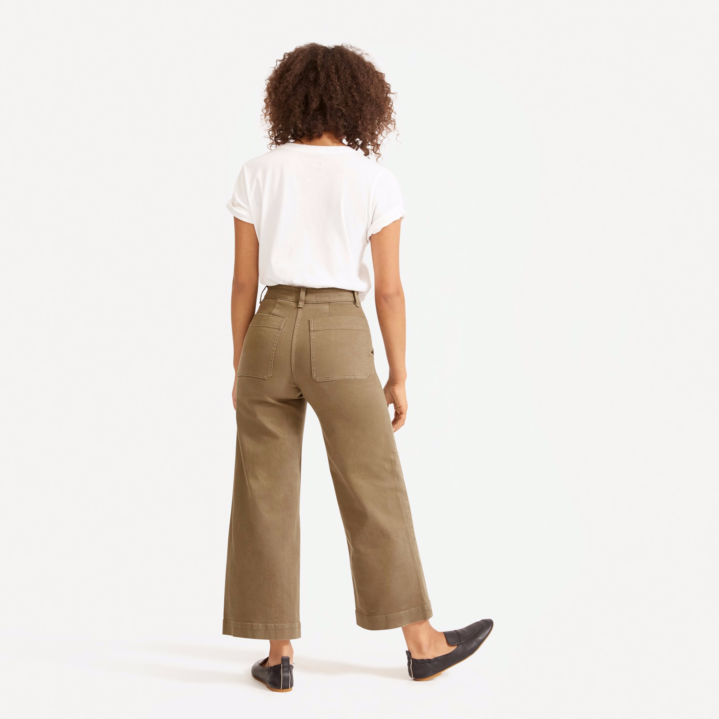 The Wide-Leg Crop Pant | Everlane