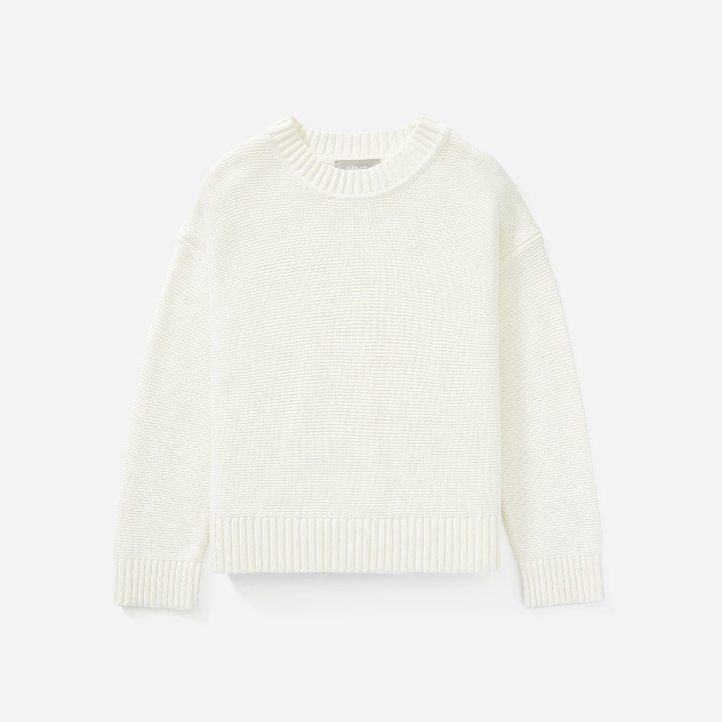 The Link-Stitch Crewneck Sweater | Everlane